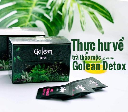 Thực hư về trà thảo mộc giảm cân Golean Detox có tốt không?
