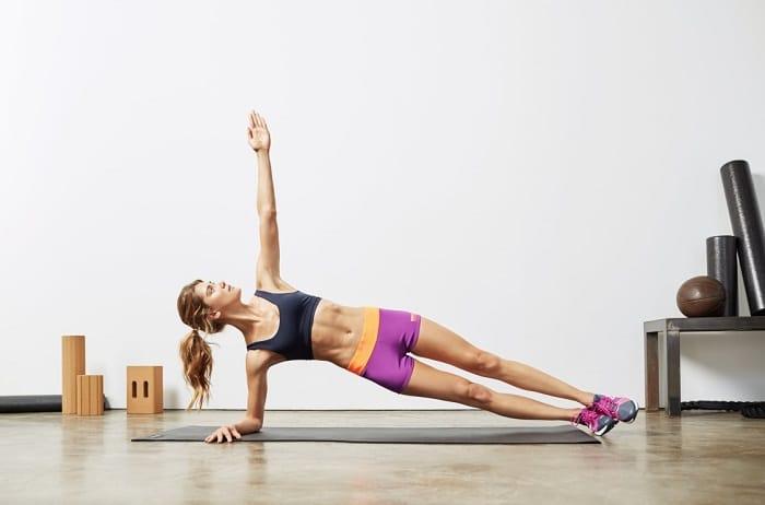 Bài tập này giúp giảm mỡ bụng hoàn hảo.