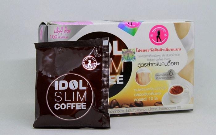Phải là khách hàng thông minh để tránh chọn sản phẩm cà phê giảm cân Idol Slim giả.