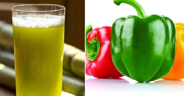 Nước mía, ớt Đà Lạt và có thể thêm chanh là thức uống detox đích thị là cách để bạn giảm cân hiệu quả nhanh chóng.
