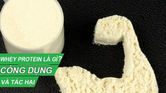 hình ảnh whey protein là gì