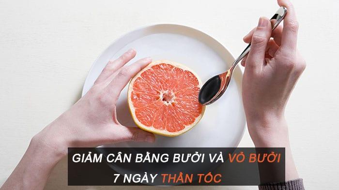 kết quả hình ảnh ăn bưởi giảm cân