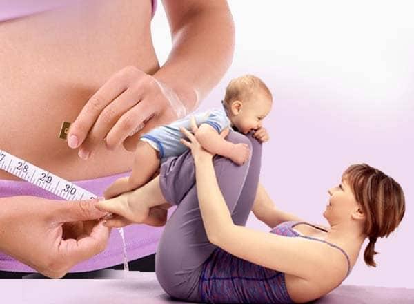 Các cách giảm mỡ bụng sau sinh hiệu quả