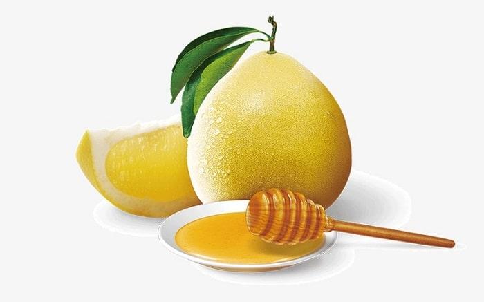 Mật ong và vỏ bưởi – Công thức giảm mỡ bụng sau sinh tuy khó uống nhưng hiệu quả cao.