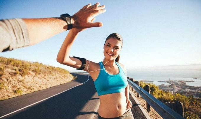 chạy bộ trên máy có giảm cân không
