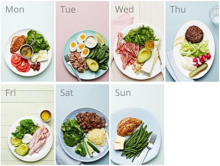 thực đơn eat clean 7 ngày