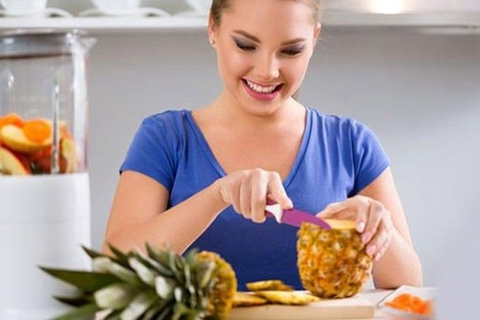ăn dứa có giảm cân không