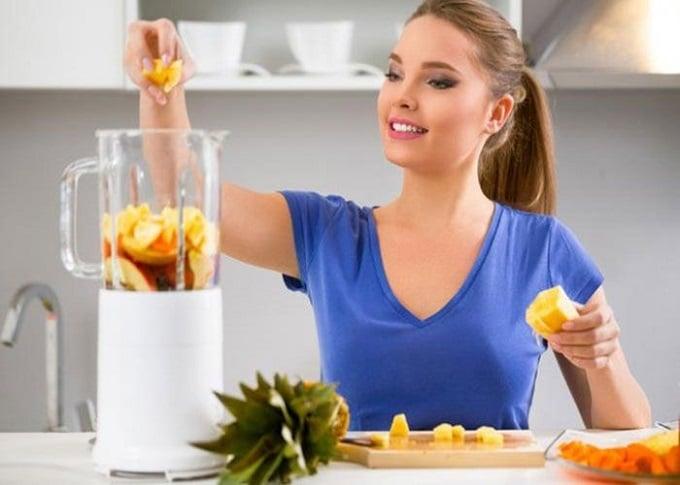 Nước ép dứa giảm cân