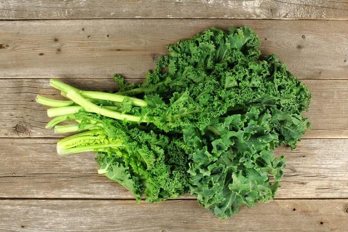 Cải xoăn là thực phẩm có thể ăn thoải mái mà không lo tăng cân.