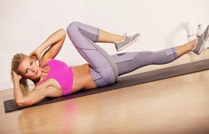bài tập giảm mỡ bụng cho phụ nữ sau sinh