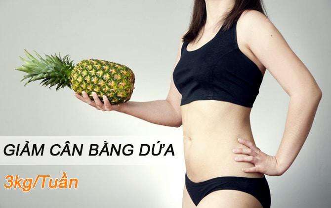 cách ăn dứa giảm cân