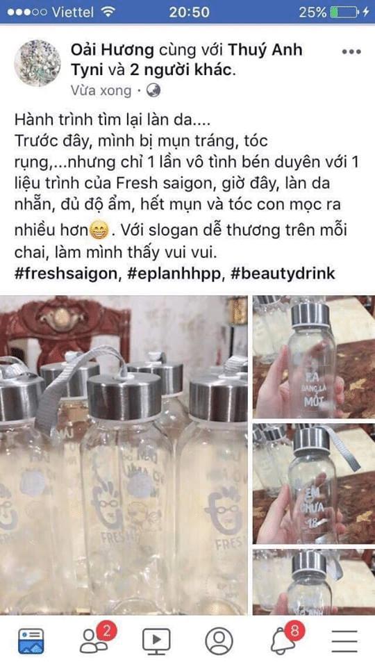 Công dụng hiệu quả như những lời Fresh Saigon cam kết