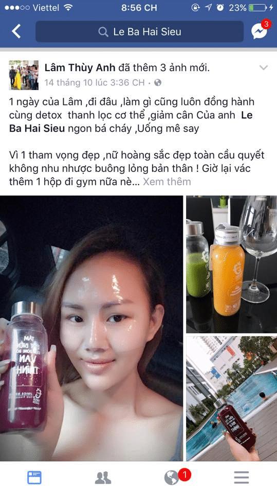 Rất nhiều người đẹp nổi tiếng tin dùng Fresh Saigon
