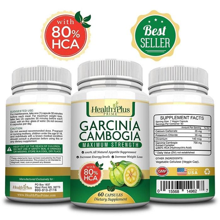 Thuốc giảm cân Garcinia Cambogia của Mỹ.