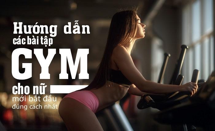 bài tập gym giảm cân cho nữ