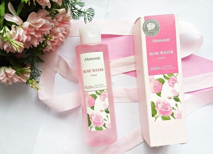 Toner Mamonde Rose Water.
