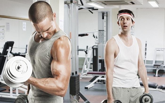 Tập luyện để thúc đẩy quá trình tăng cân nhanh hơn