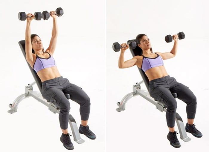 tập gym nữ đúng cách