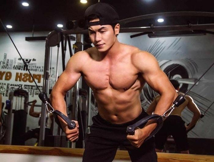 lịchtập gym giảm câncho nam
