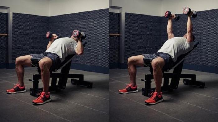 lịch trình tập gym giảm cân cho nam