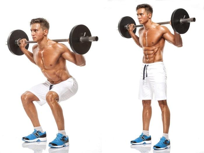 lịch tập gym cho nam giảm cân