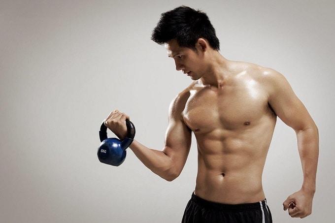 Đây là bài tập giúp bạn phát triển cơ tay.