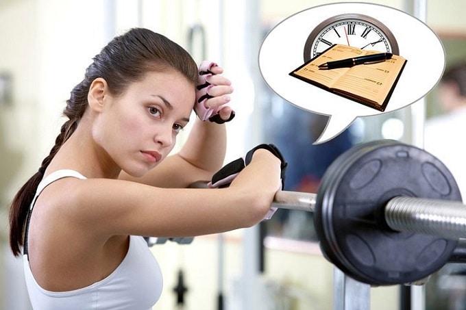 Quy trình tập gym 6 buổi 1 tuần cho người mới bắt đầu