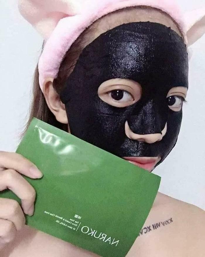 cách đắp mặt nạ naruko