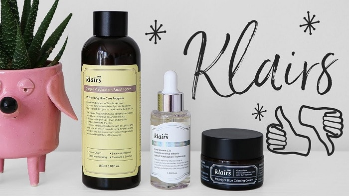 review serum klairs