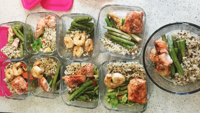 Tăng lên 6 bữa ăn trong thực đơn tăng cân