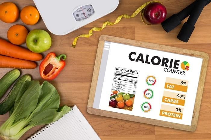 Tính calo để tăng cân hiệu quả hơn