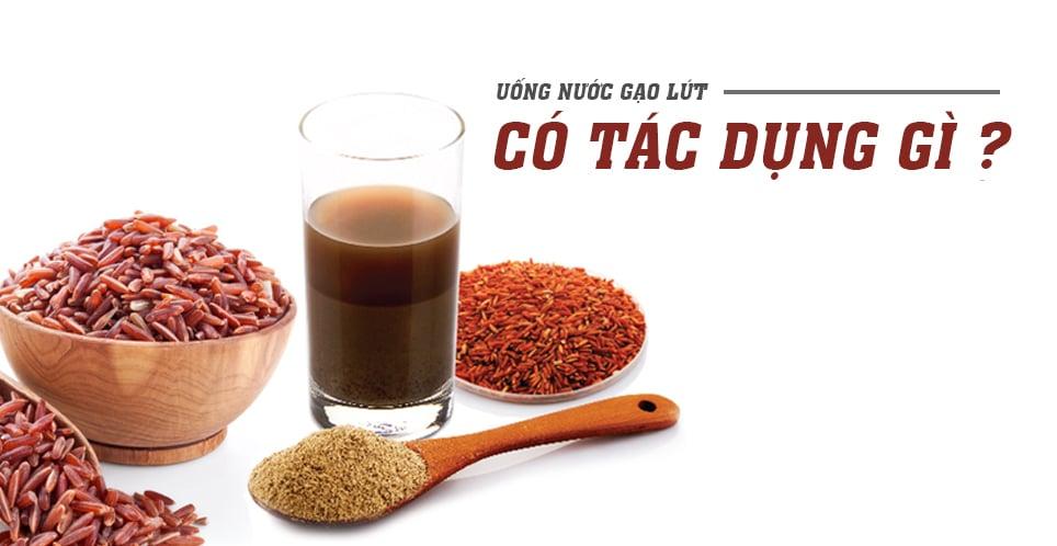 Nước gạo lứt rang còn có tác dụng phòng ngừa bệnh tim mạch, mỡ nhiễm máu và trị mụn, làm đẹp da.