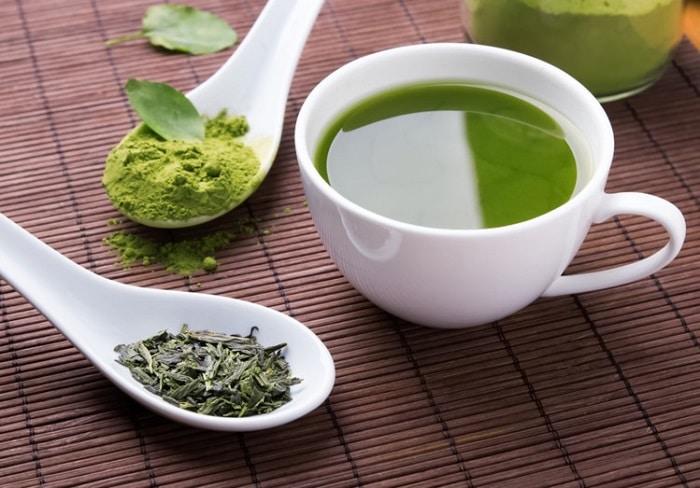 Trà xanh lợi tiểu và giảm lượng đường trong máu.