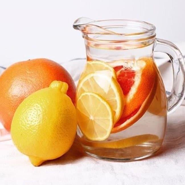 nước uống giảm mỡ bụng tại nhà