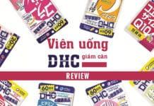 Viên uống DHC giảm cân review chi tiết.