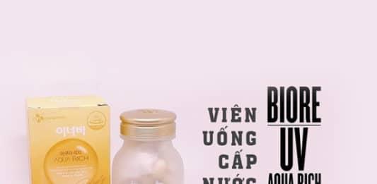 Viên uống cấp nước Aqua Rich Hàn Quốc.