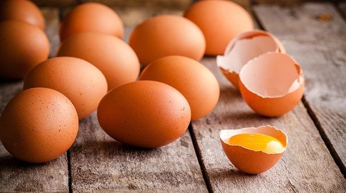 Lượng calo trong trứng