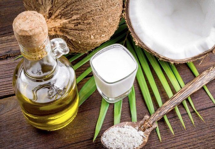 giảm cân bằng dầu dừa