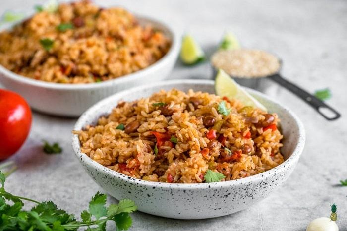 Gạo lứt – Thực phẩm giảm mỡ bụng hiệu quả.
