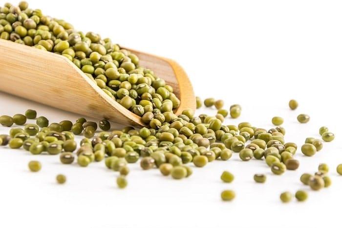 Đậu xanh cũng là loại bột đậu có thể năng giúp bạn tăng cân.