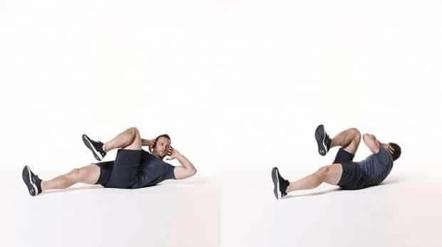 bài tập thể dục giảm mỡ bụng trên