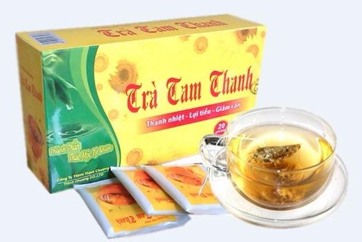 trà giảm mỡ bụng