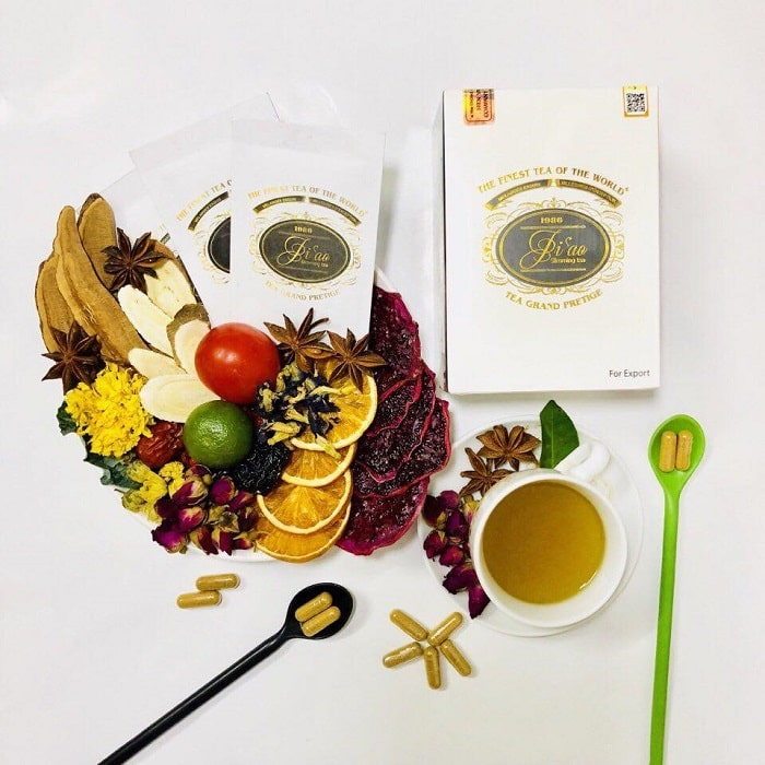 các loại trà giảm cân
