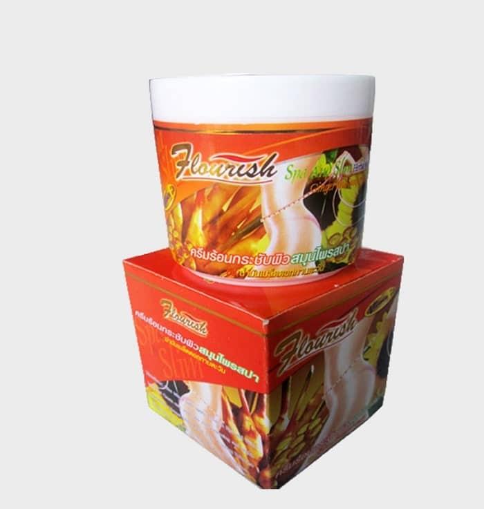 Kem tan mỡ bụng Flourish Thái Lan