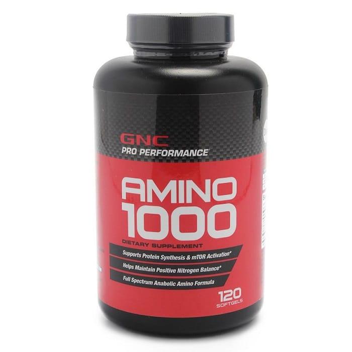 Thuốc tăng cân an toàn và hiệu quả Amino 1000 giúp thúc đẩy quá trình hấp thụ chất dinh dưỡng.