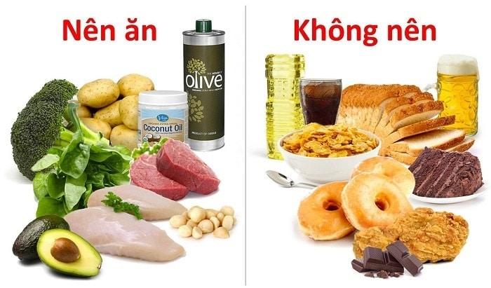 Thực phẩm nên và không nên ăn khi giảm cân
