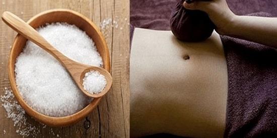 Giảm cân, giảm mỡ bụng bằng muối