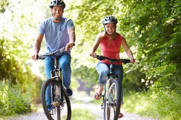đạp xe đạp giảm cân