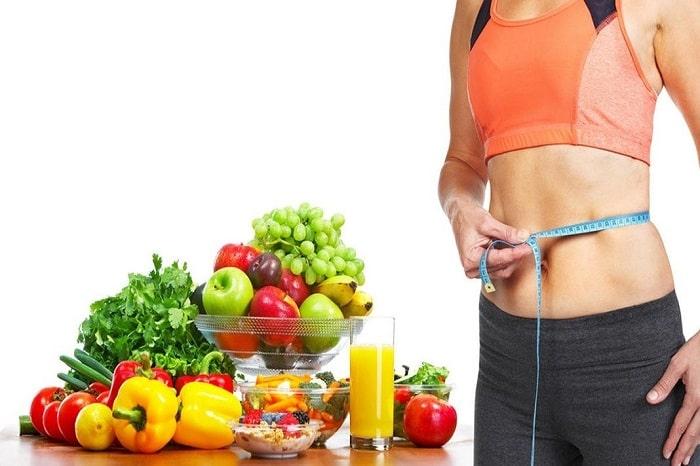 giảm cân bằng trái cây