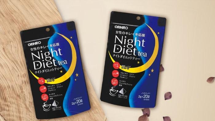 trà giảm cân night diet tea